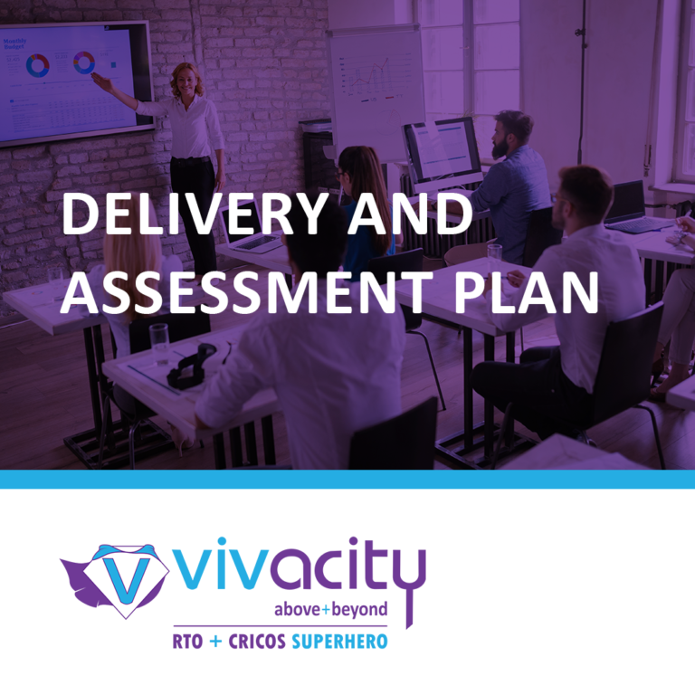 Delivery and Assessment Plan
