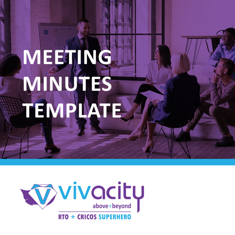 RTO Meeting Minutes Template