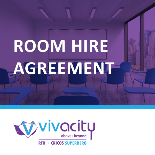 Room Hire Agreement