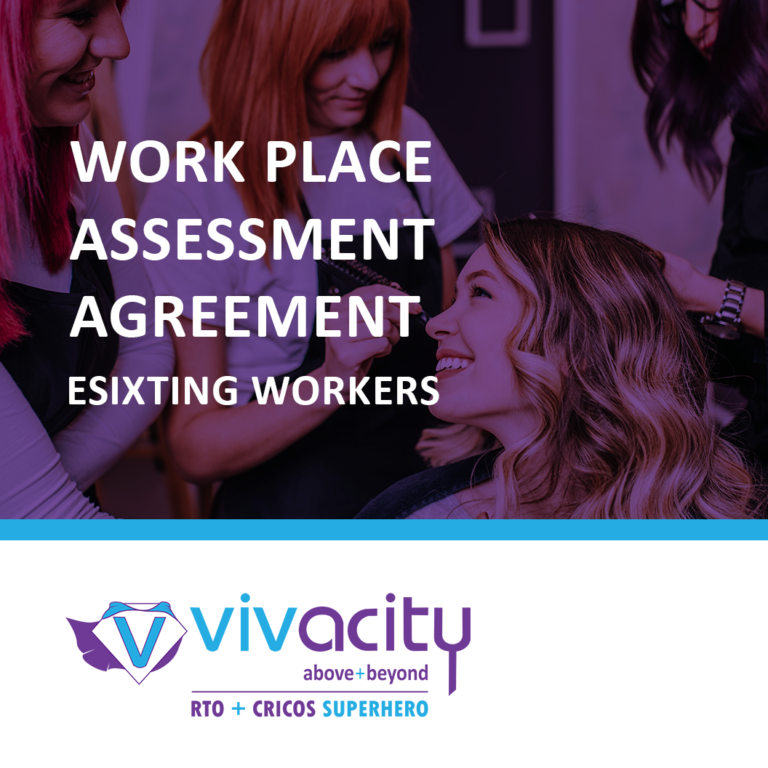 Work Placement Agreement - Existing Workers