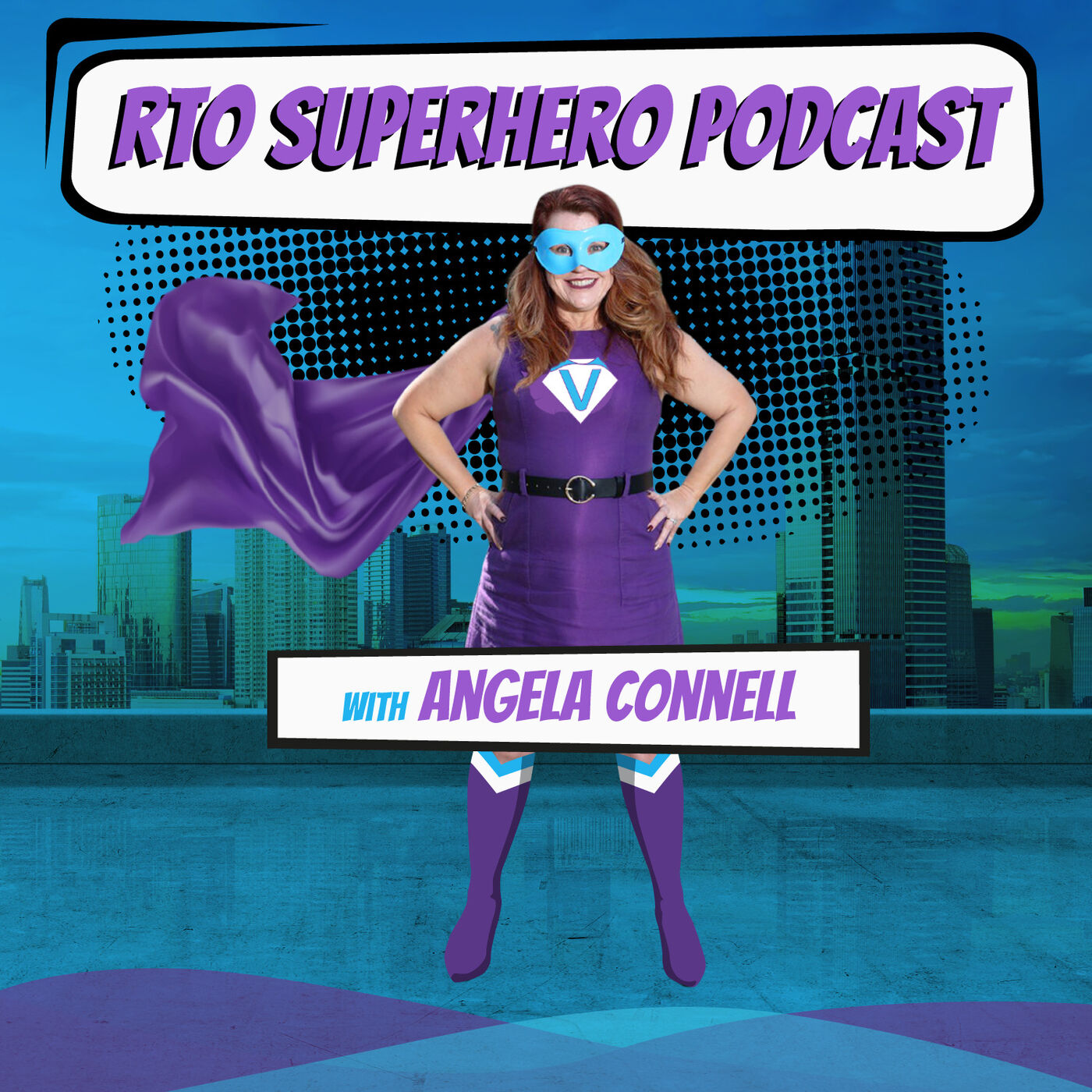 Angela Connell Becomes A Guest On Her Own Show!